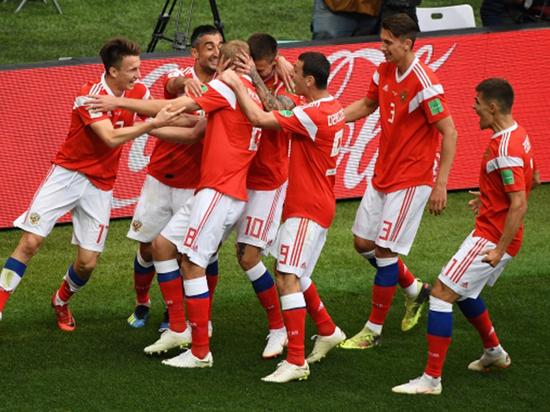 Дзюба встартовом составе сборной Российской Федерации наматч против Египта