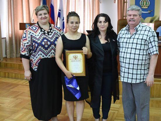 Депутаты наградили победителей городского диктанта