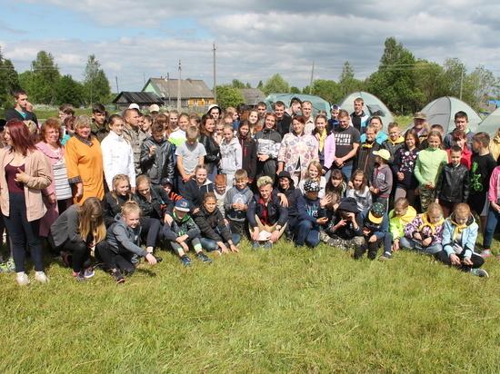 Школьники Вышневолоцкого района собрались на турслёте