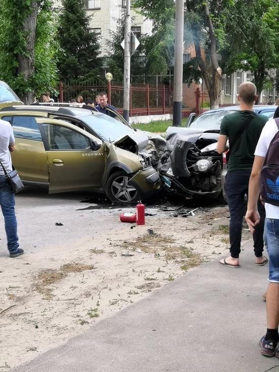 Тройное ДТП случилось в Тамбове