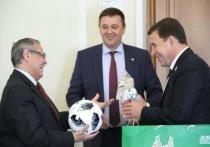 Евгений Куйвашев встретился  с послами Египта и Уругвая