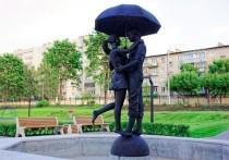 В Кирове появился еще один фонтан со скульптурой