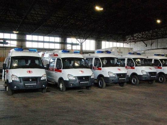 Костромская область приобрела еще пять карет «скорой помощи»