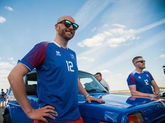 Исландские болельщики в Волгограде: «Хотим пробыть в России подольше»