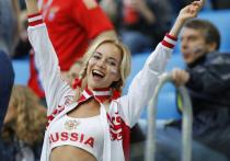 В «самой красивой русской болельщице» опознали актрису «взрослых» фильмов