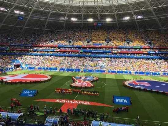 Матч ЧМ-2018 Дания – Австралия на «Самара Арене» завершился со счетом 1:1