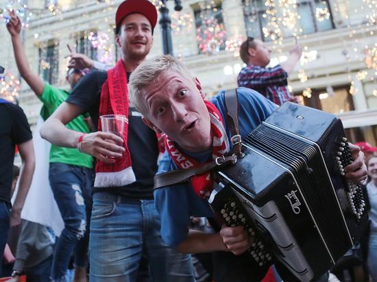 Украинский комментатор высмеял «оргазм» российских болельщиков