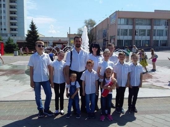 Супруги из Волгоградской области воспитывают 9 приемных детей