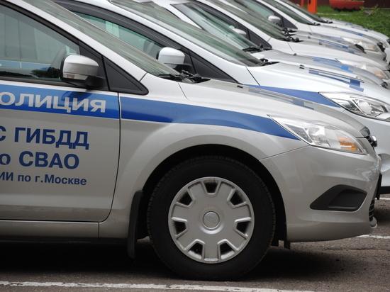 Опубликовано видео страшной аварии на Кутузовском проспекте в Москве