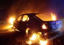 В Оренбуржье за ночь сгорело два автомобиля
