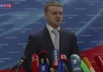 Депутат Госдумы Алексей Диденко организовывает пикет у здания Пенсионного фонда в Томске