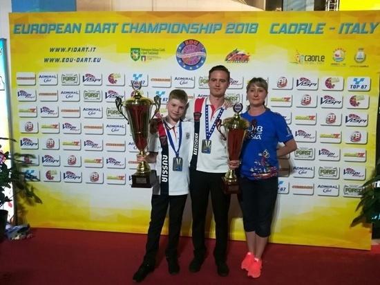 Ростовчане заняли призовые места на Чемпионате Европы по дартсу