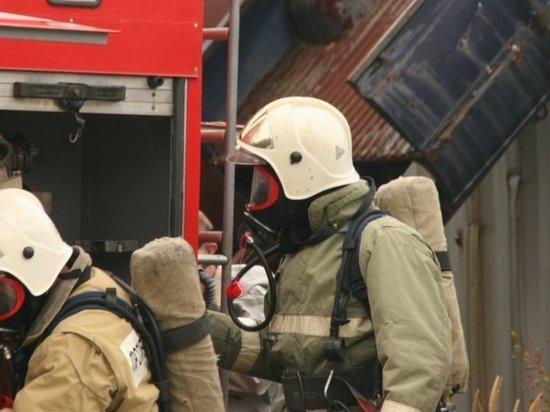 Жилой дом загорелся в Приморском крае