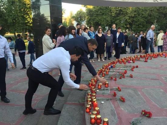 В Тамбовской области 20 тысяч человек зажгли