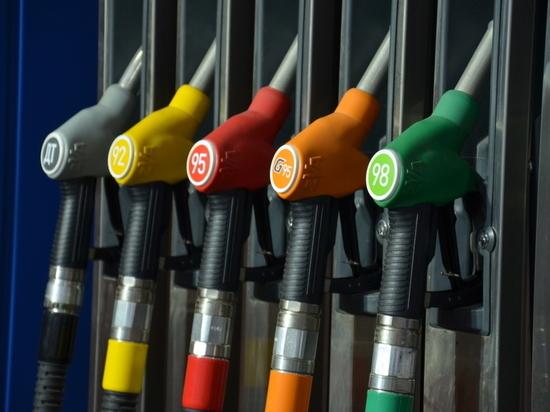 В Тамбове упали цены на бензин