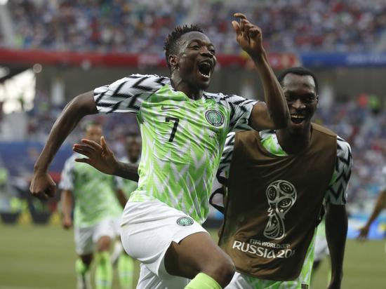 Нигерия победила Исландию на ЧМ-2018 благодаря дублю экс-армейца Мусы