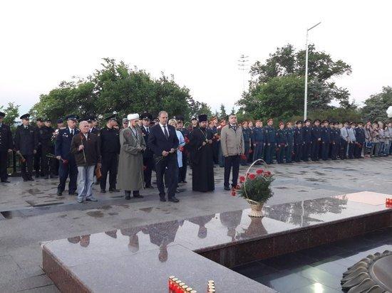 Утром в Ульяновске прошла акция, посвященная Дню памяти и скорби