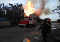 На Украине произошел взрыв цистерн с 480 тоннами биоэтанола