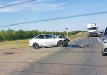 У Павловки Оренбургского района в ДТП с «Фордом» и мотоциклом есть пострадавшие