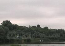 Ока вынесла в Калуге утонувший автомобиль