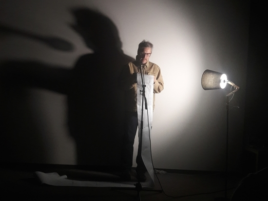 Чилонгола: Александр Барбух представил в Симферополе свою монопьесу