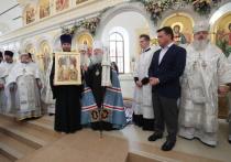 В Кашире освятили восстановленный Никитский монастырь