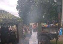 «Полевая кухня» представила на фестивале каши свое фирменное блюдо