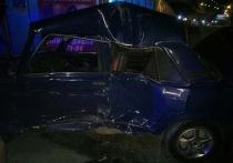 В Астрахани столкнулись машины под Новым мостом