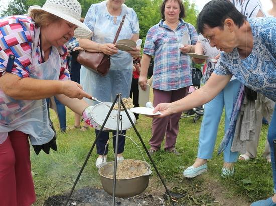 В Тверской области гости получили полбу