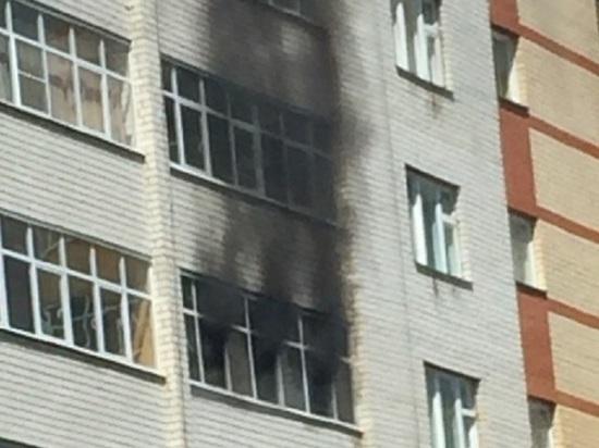 В Саранске произошел пожар в многоэтажке