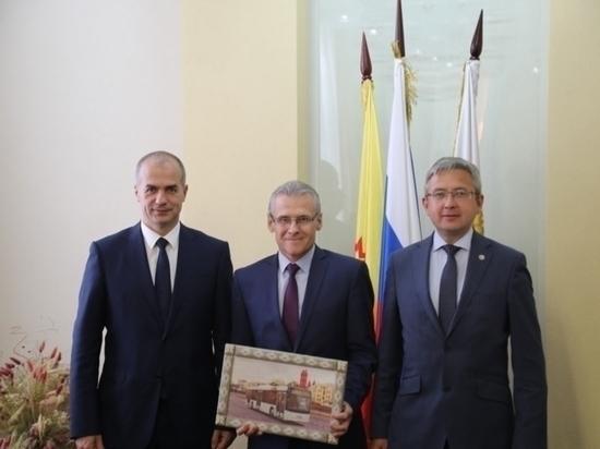 В Чебоксарах прошли переговоры с делегацией из Беларуси