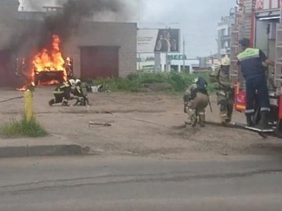 В День города в Архангельске сгорел «китаец»