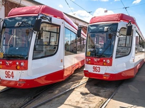 Движение после схода трамвая с рельсов в Самаре восстановили