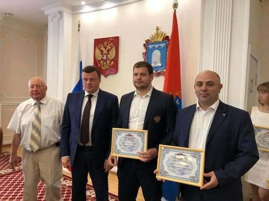 Тамбовские греки, победившие в чемпионате мира, получат по 500 тысяч рублей