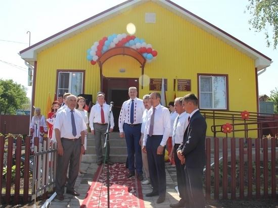 В Красноармейском районе открыли фельдшерско-акушерский пункт