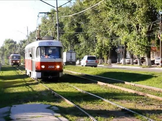 В Ульяновске из-за ремонта путей трамваи пустят в объезд