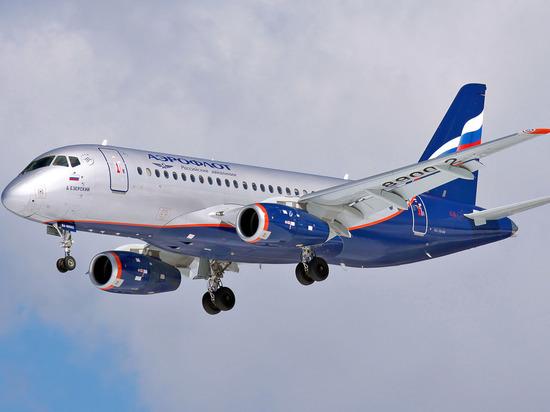 Аэрофлот получил 44-й самолет российского производства Sukhoi Superjet 100