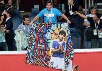 Марадоне оказали медицинскую помощь после матча Аргентины с Нигерией