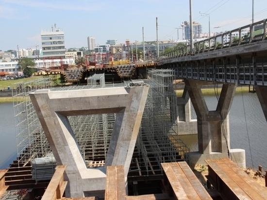 Московский мост в Чебоксарах планируют сдать раньше срока
