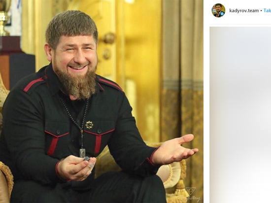 Кадыров разразился отповедью на