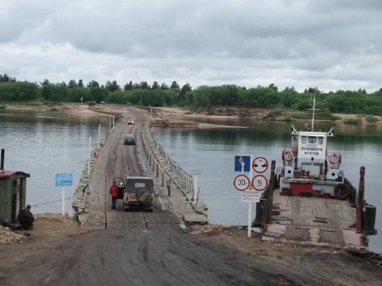 Губернатор приказал сделать переправу через Вагу в Шенкурске бесплатной