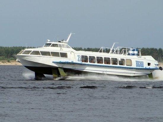 Открывается новый скоростной речной маршрутСамара–Ширяево