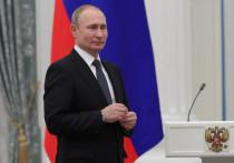 Путин наградил калужского председателя колхоза за заслуги перед Отечеством