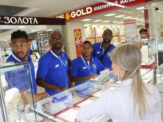Сборная Панамы устроила шопинг перед матчем ЧМ-2018 на «Мордовия Арене»