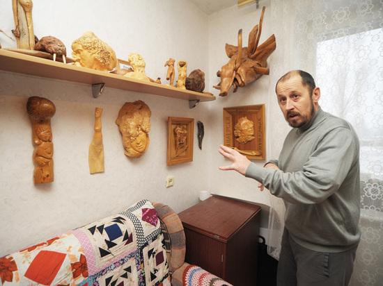 Воронежский умелец превращает корни и коряги в диковинные статуэтки