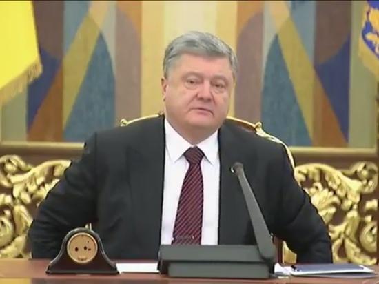 Порошенко потребовал не медлить с законом об отмене депутатской неприкосновенности