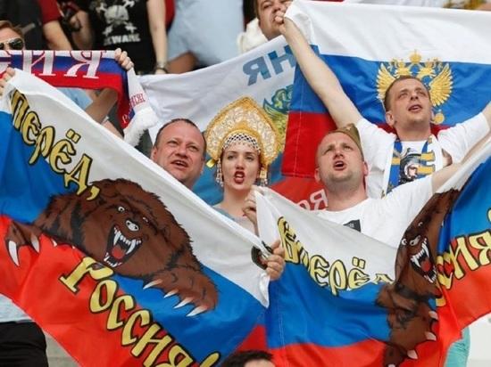 На время матча между Россией и Испанией перед драмтеатром организуют фан-зону