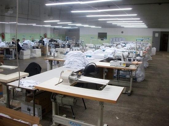 В Тамбове заключенные шьют детскую одежду