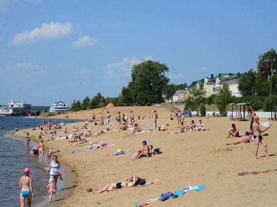 В Костроме запретили купаться из-за грязной воды и песка
