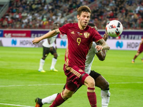 РФС признал Смолова лучшим футболистом сезона